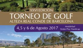 Salidas Torneo XXVI S.A.R. Conde de Barcelona (Sábado 05 de Agosto, 15:00 H a tiro)
